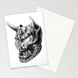 Japanese Demon Mask v.1 Stationery Cards