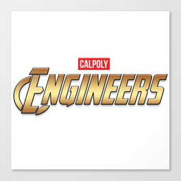 Cal Poly Engineer (Engineers) Canvas Print