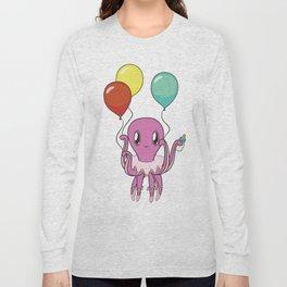 Octopus with tutu Long Sleeve T-shirt