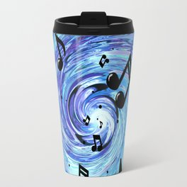 Musical Blue Travel Mug