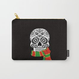 Funny skull with scarf Carry-All Pouch