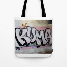 KUMA Graffiti Item Tote Bag