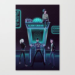 Alien Embargo Canvas Print