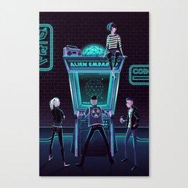 Alien Embargo Canvas Print