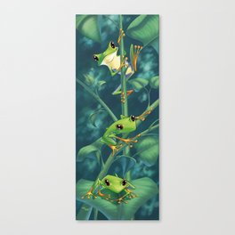 I Love Being Green! Canvas Print