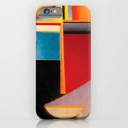 Alexej von Jawlensky - Abstrakter Kopf Sonne, Farbe, Leben - Abstract Head Sun, Color, Life iPhone Case