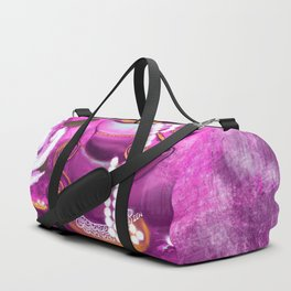 Cups and Pearls Duffle Bag