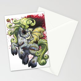 Autopsy Turvy Stationery Cards