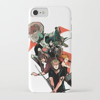 mortal instruments iPhone & iPod Cases featuring The Mortal Instruments by The Radioactive Peach
