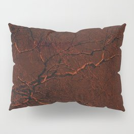 all red Pillow Sham