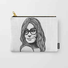 Gloria Steinem Carry-All Pouch