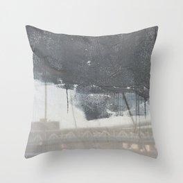 Brooklyn Bridge Abstraction II Throw Pillow