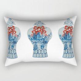 Christmas Ginger Jar  Rectangular Pillow