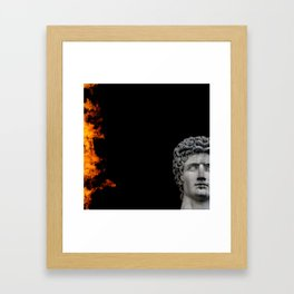 61110a Framed Art Print