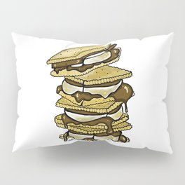 Stack of S'mores Pillow Sham