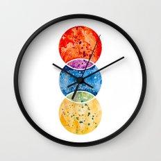 RYB color model Wall Clock