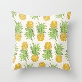 Solo Pineapple Throw Pillow