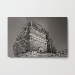 Biblical Times| Nabatean village Metal Print