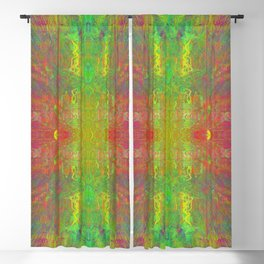 expressing colours Blackout Curtain