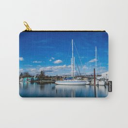 Columbia River Boat Reflection Carry-All Pouch