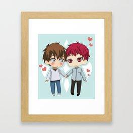 Akafuri Framed Art Print