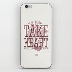 Take Heart iPhone & iPod Skin