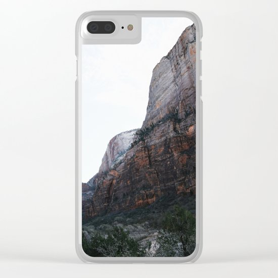 Zion National Park II Clear iPhone Case