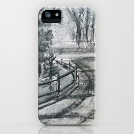 The Laneway iPhone Case