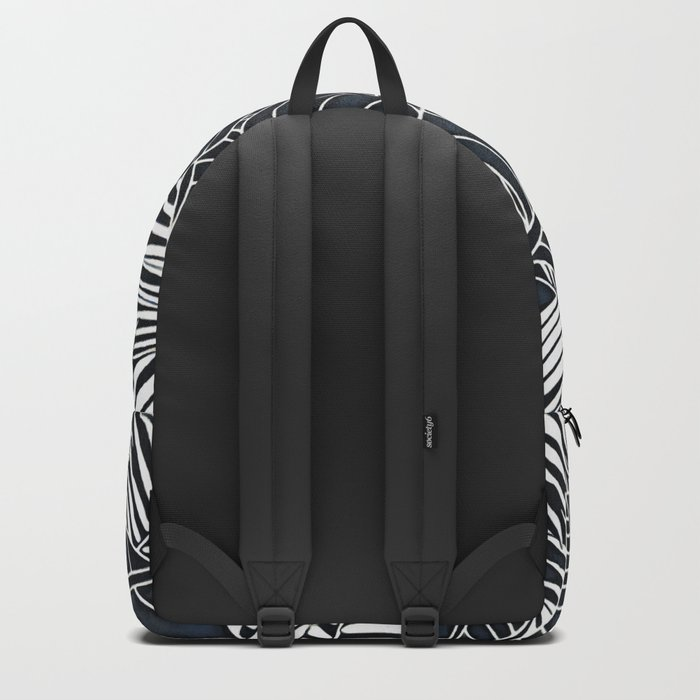 Banana and palm leaves graphics Backpack