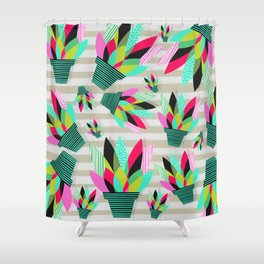 Joyful Plants II Shower Curtain