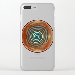 Tribal Maps - Magical Mazes #02 Clear iPhone Case