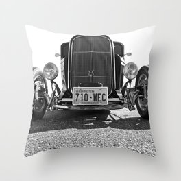 American Coupe Throw Pillow