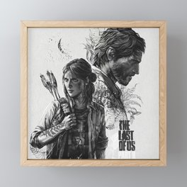 The Last of Us Part II Framed Mini Art Print