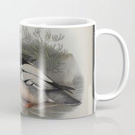 331 Mergus serrator. Merganser Coffee Mug