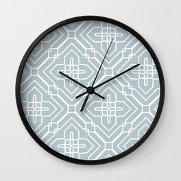 Intricate Geometric Wall Clock