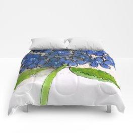 Hydrangeny Comforters