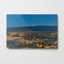 Vernon Cityscape Metal Print