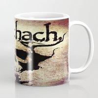 rorschach Mugs featuring Rorschach by Dominic Mastracchio
