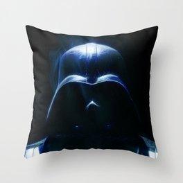 VADERFACE Throw Pillow