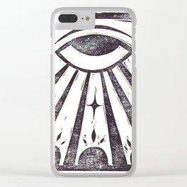 Clarity (White) Clear iPhone Case