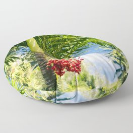 Keanae Palm Beauty Floor Pillow