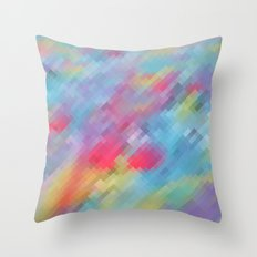 Wrinkle Pixel Throw Pillow