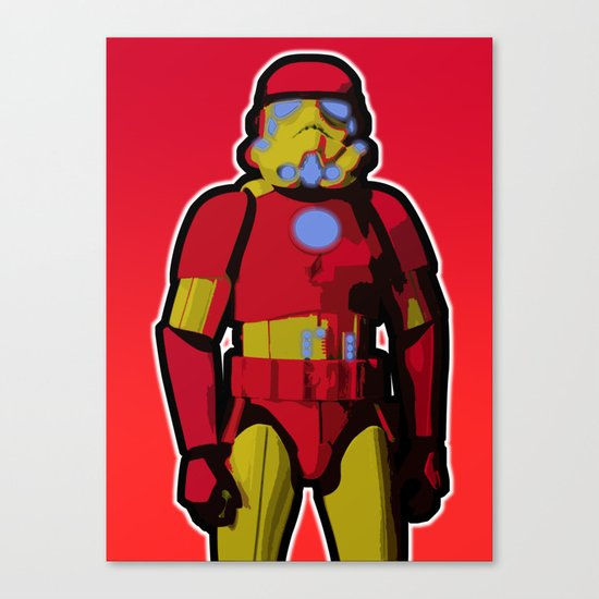 iron trooper Canvas Print