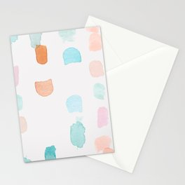 Watercolor Marks Stationery Cards