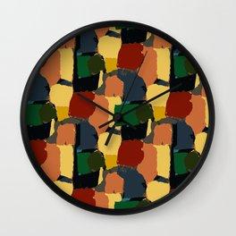 Rondeau 6 Wall Clock