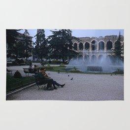 Vintage Color Photo * 1950's * Verona Arena * Amphitheater * Italy *Italian Life Rug