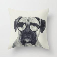 hawt dawg Throw Pillow