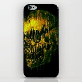 Melting Skull iPhone Skin