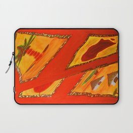 Red Tosca by Gabriele Müller Laptop Sleeve