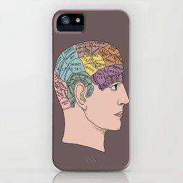 Phrenology iPhone Case